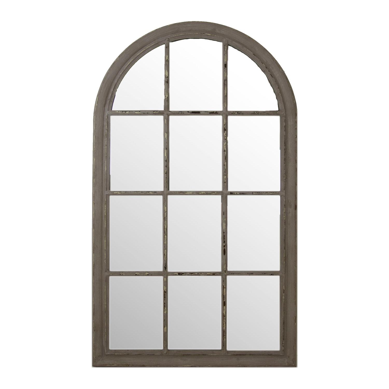 Arch window mirror grey for Window design with arch