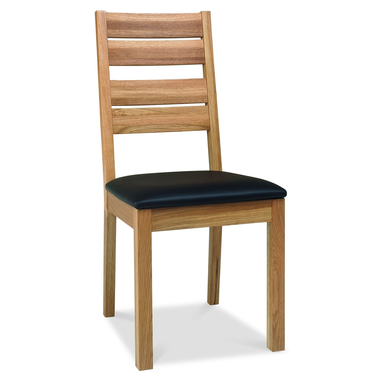 Bretagne slatted dining chair oak d chair for Oak dining chairs