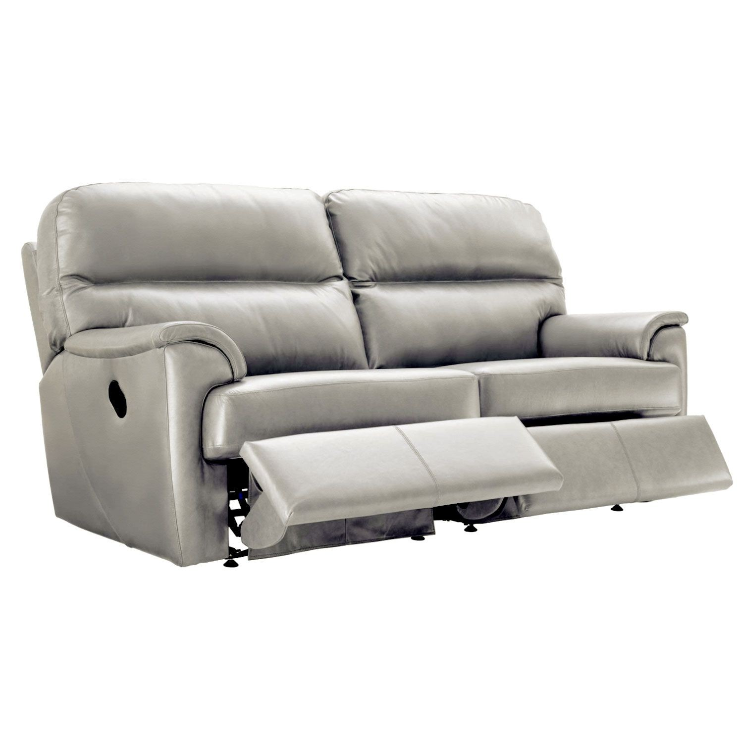 G Plan Watson Three Seater Double Recliner Leather Sofa