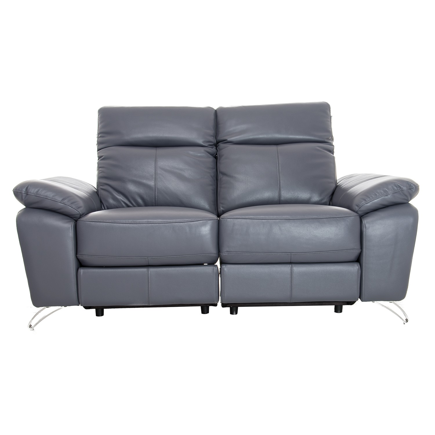 Vivaldi Two Seater Power Recliner Leather Sofa