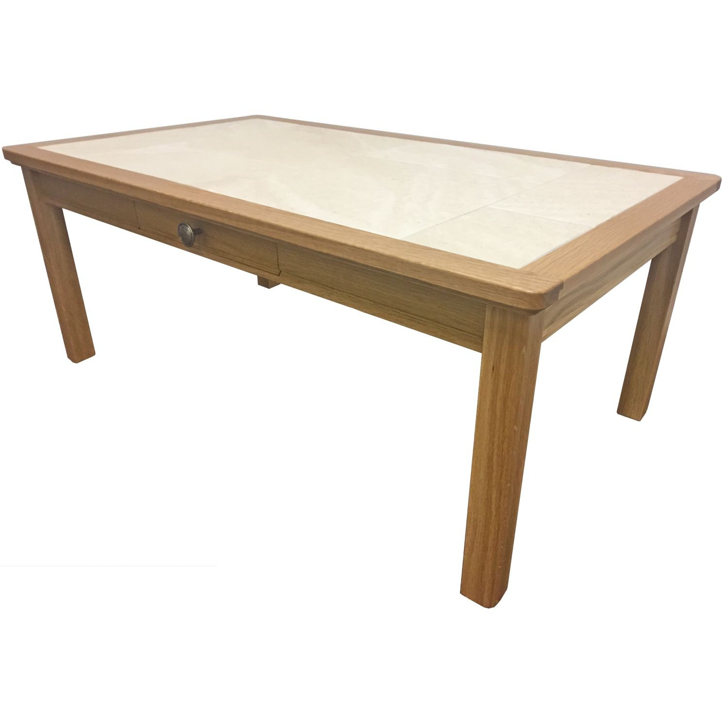 Beaumont large coffee table with drawer for Large coffee table with drawers