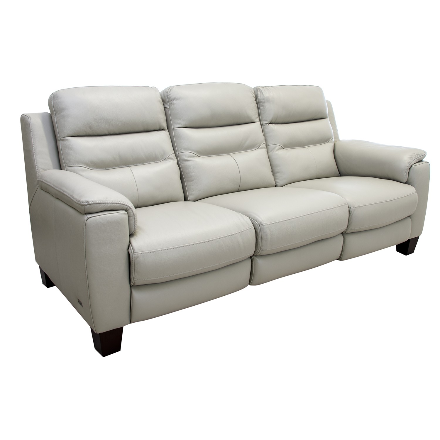 Jonty Three Seater Power Recliner Leather Sofa