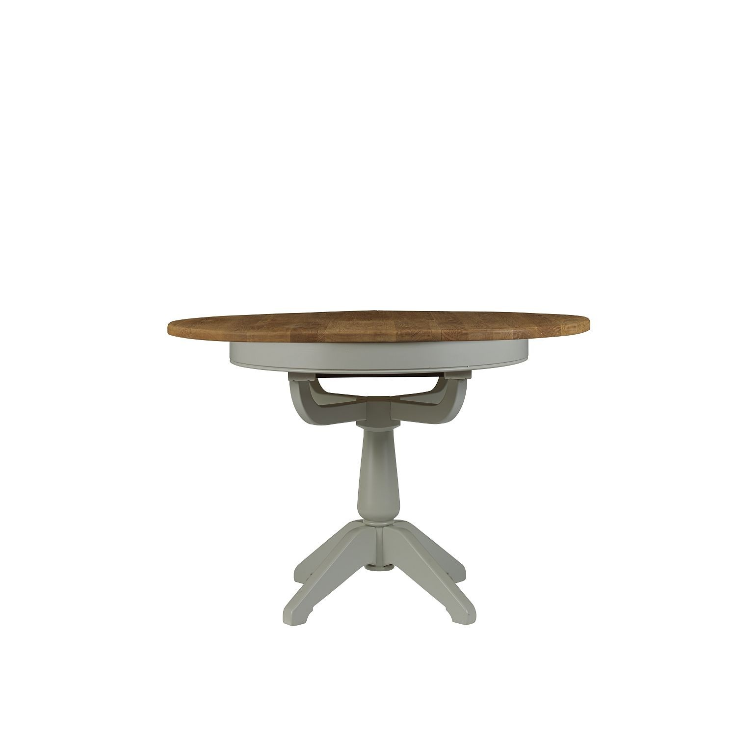 Southwark round extending dining table - Round extending dining table ...