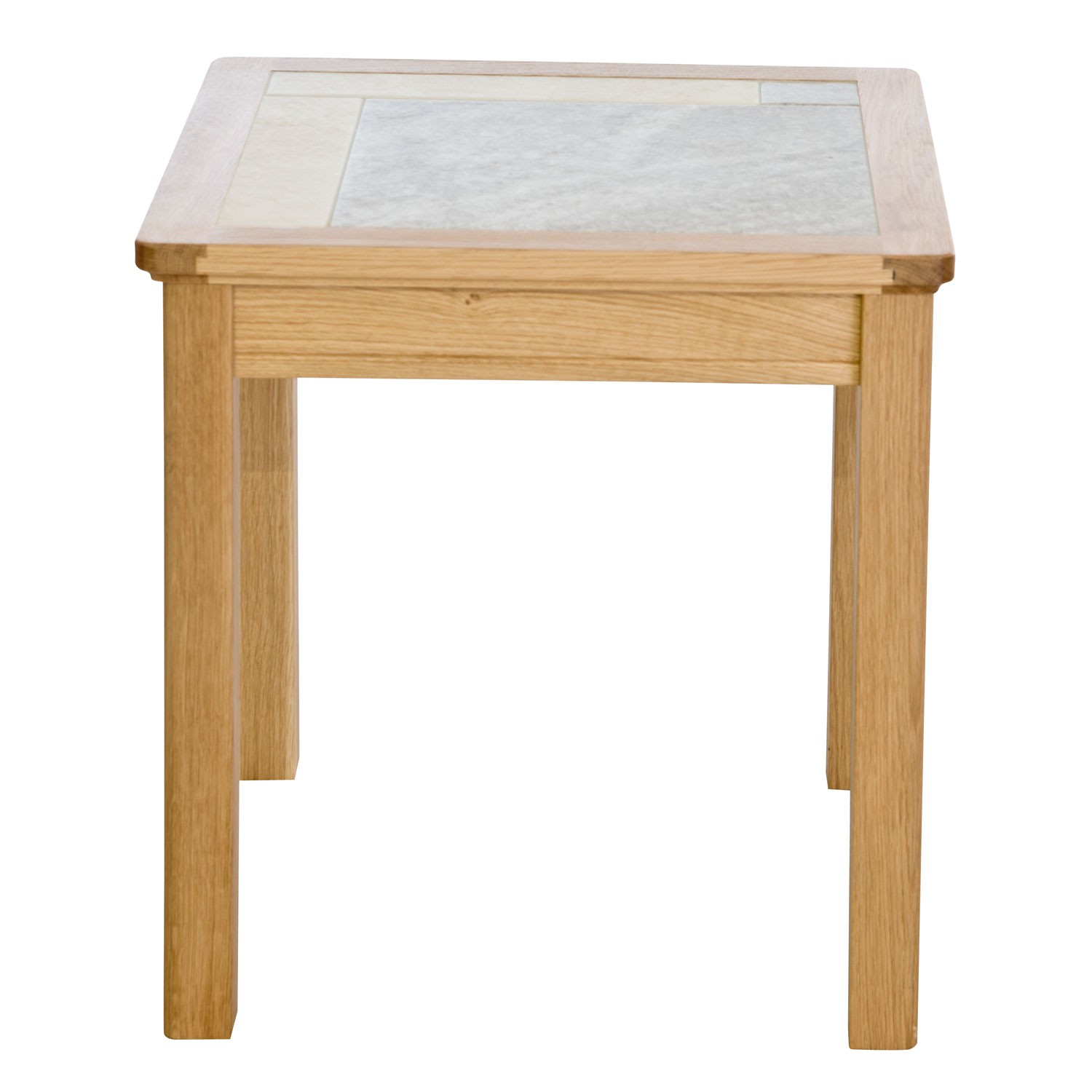 Amber Tile Top Lamp Table