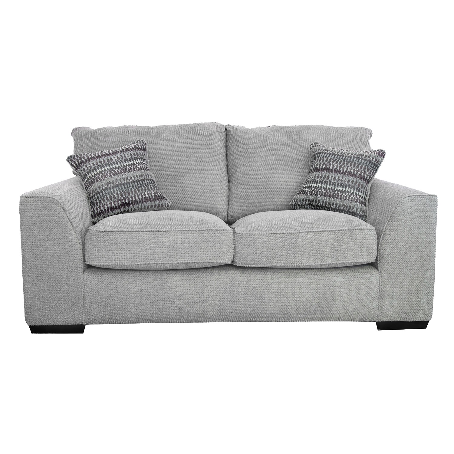 Alpha Two Seater Fabric Sofa