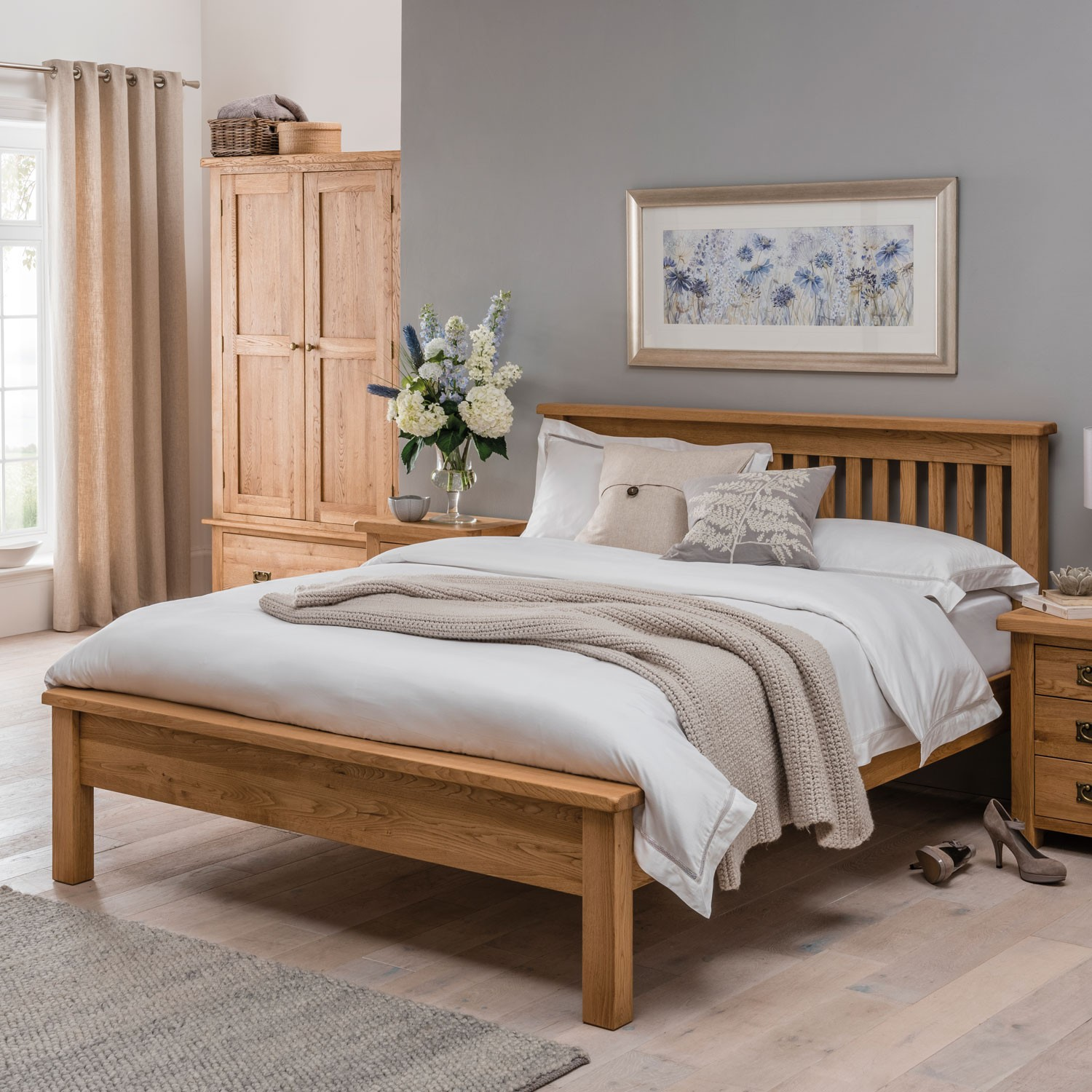 Seville Low Foot End Bed Frame Double