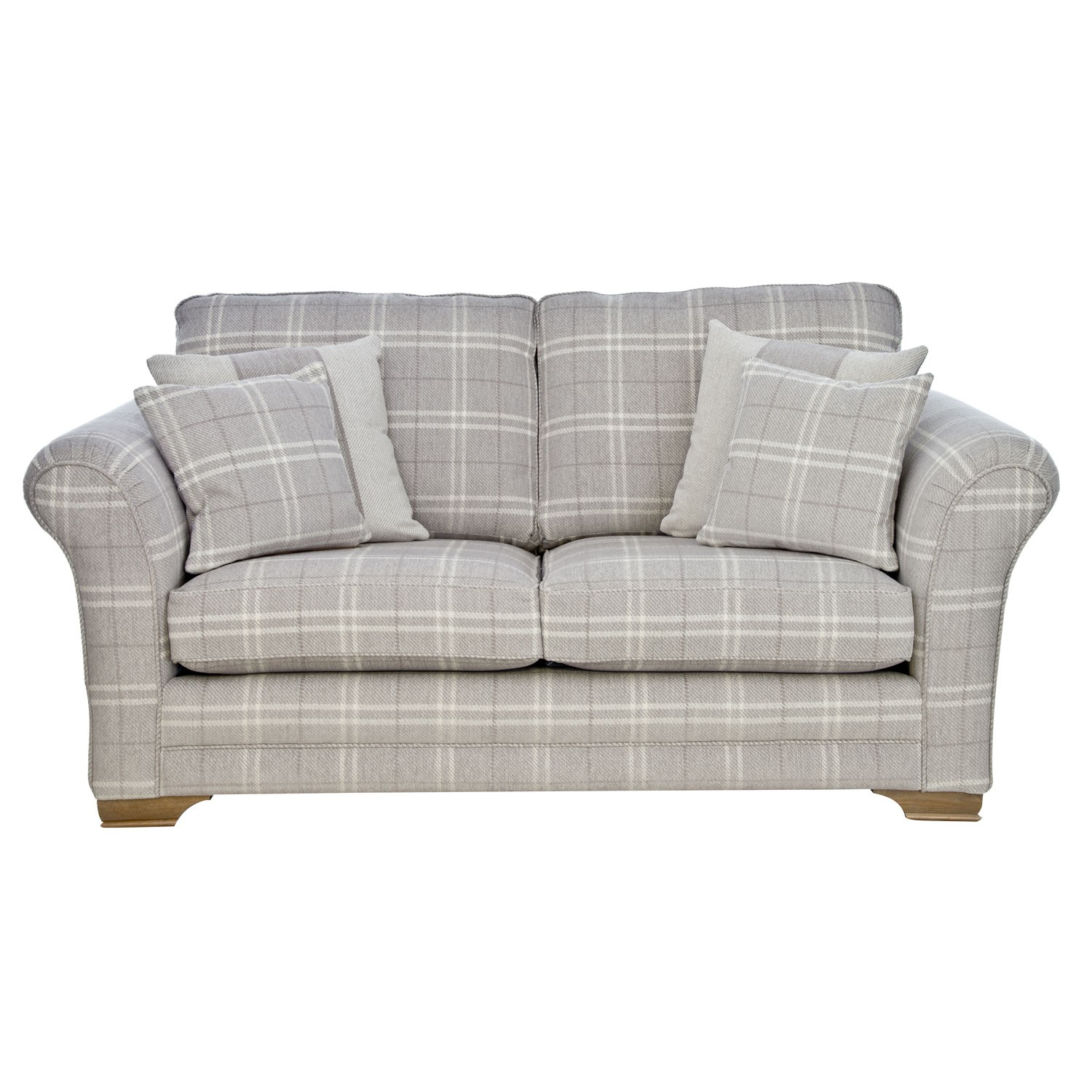 Peachy Georgia Two Seater Fabric Sofa Small Home Remodeling Inspirations Cosmcuboardxyz