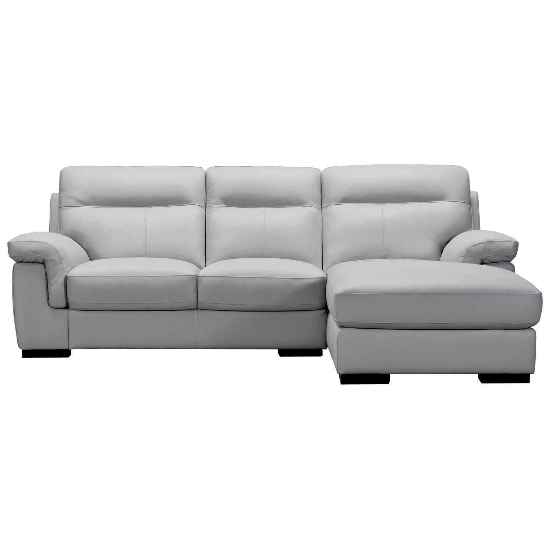 Louis Corner Leather Sofa