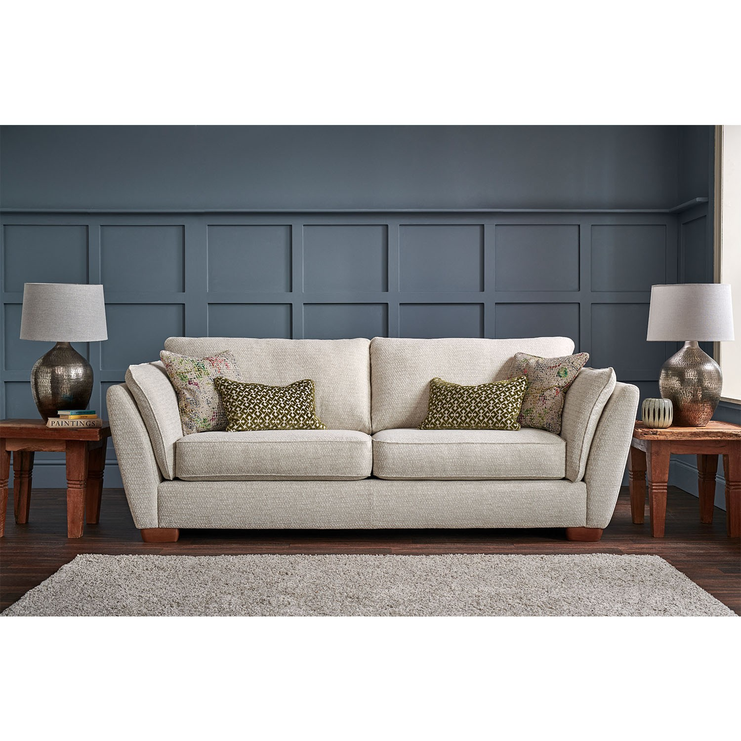 Isabella Two Seater Fabric Sofa