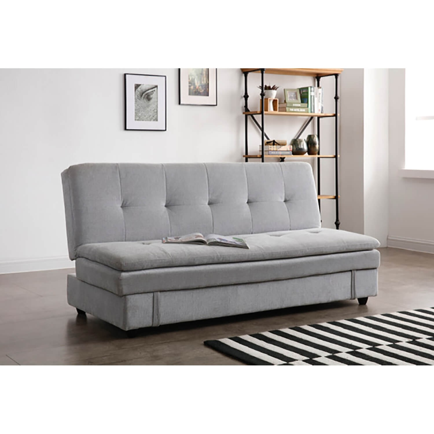 Ollie Sofabed With Storage Bed Sofa Misty