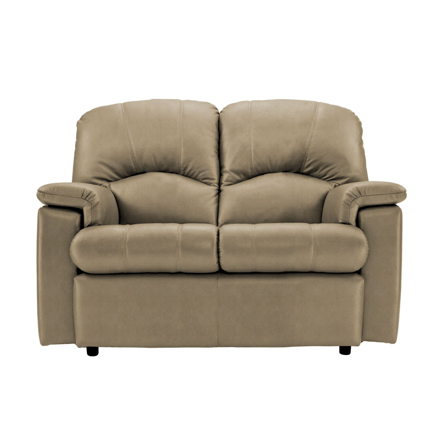G Plan Chloe Two Seater Leather Sofa Small