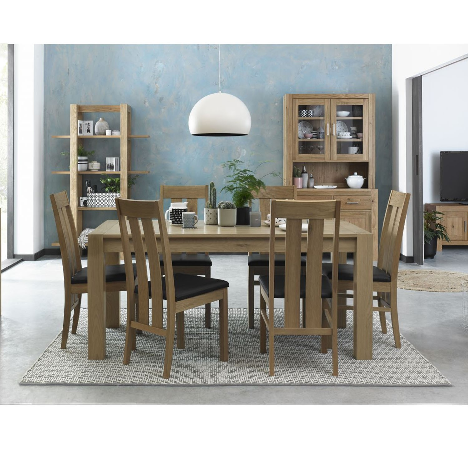 Peachy Toledo Extending Dining Table And Six Chairs Interior Design Ideas Philsoteloinfo