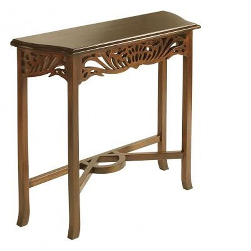 Casa Mahogany Side Table, Mahogany