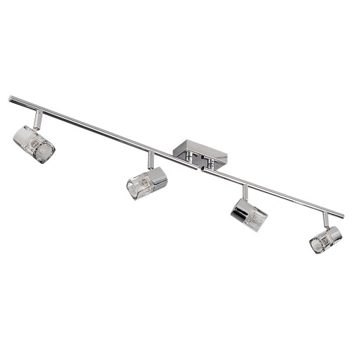 Blocs 4-Light Bar, Chrome