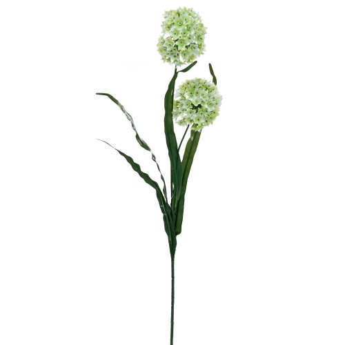 Casa Artificial Allium Flower, Cream