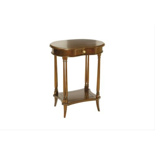 Casa Mahogany Kidney Side Table, Mahogany