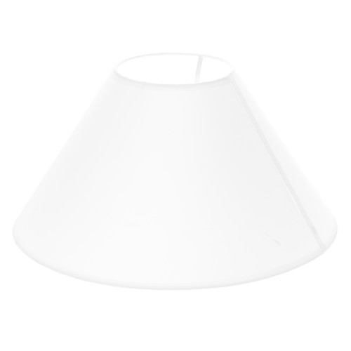 """14"""" Coolie Shade, White"""