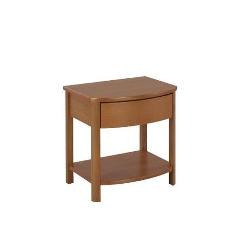 Nathan Furniture Limited Shades Teak Shaped Lamp Table