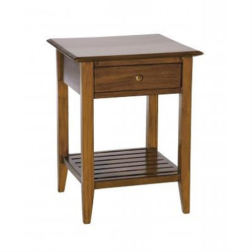 Casa Suffolk Lamp Table, Mahogany