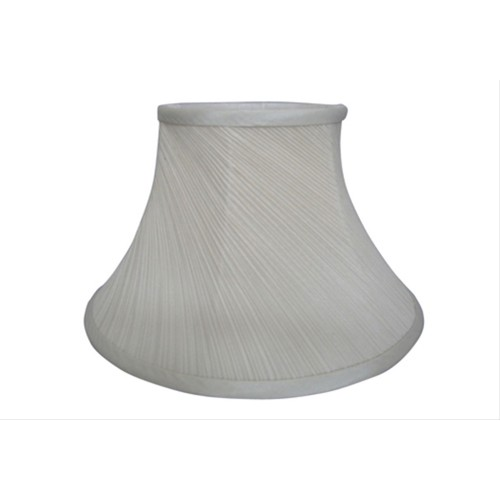 "16"" Cream Twisted Pleat Shade"