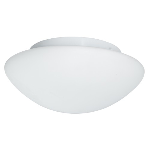 Searchlight Bathroom Flush Light Glass