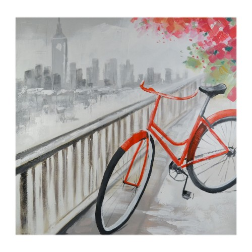 Casa Red Bicycle Canvas