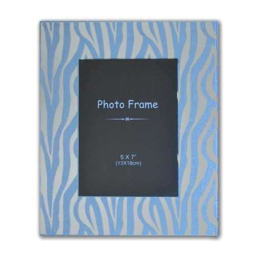 Casa Zebra Print Photo Frame 5x7""