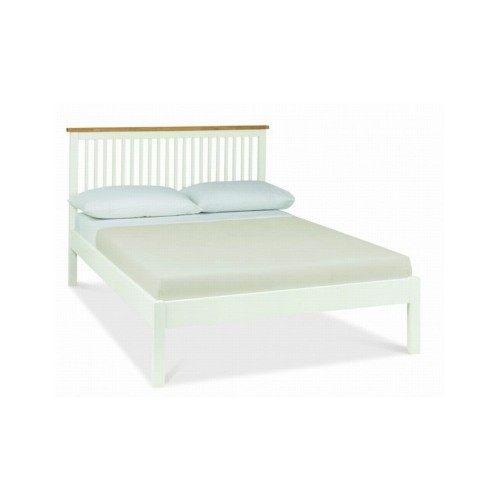 Casa Atlanta Single Bedstead, White