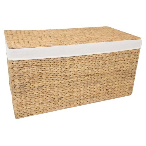 Casa Lidded Hamper Medium, Natural