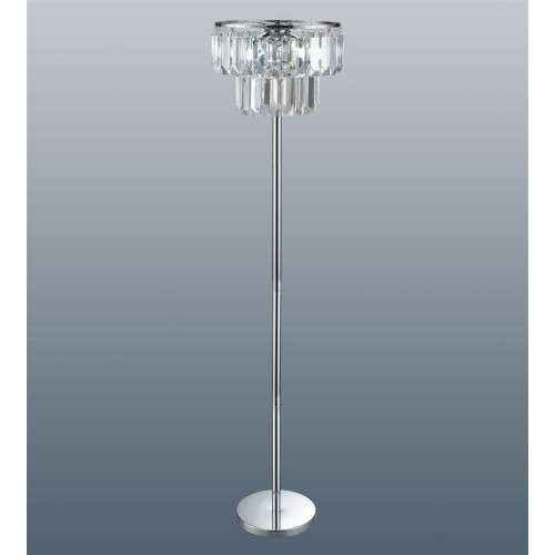 Chichester Floor Lamp Chrome