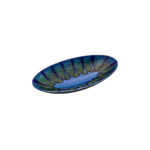 Poole Pottery Alexis Oval Dish 39cm Nonsize Green
