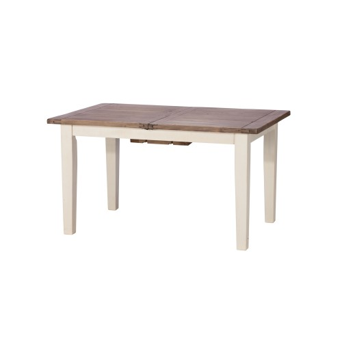 Casa Cotswold 140cm Extended Dining Table, White