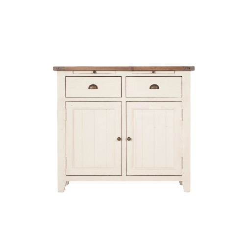 Casa Cotswold Narrow Sideboard, White