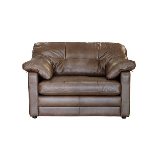 Alexander & James Bailey Snuggler Chair Love Seat, Tumbleweed