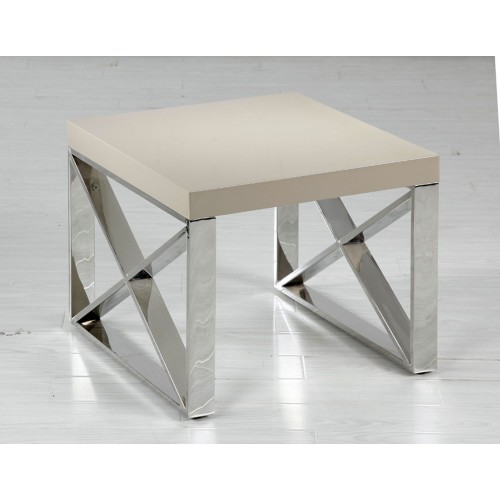 Casa Comet End Table, Light Mushroom