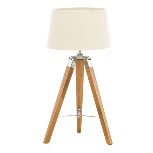 Metro Table Lamp, Off White
