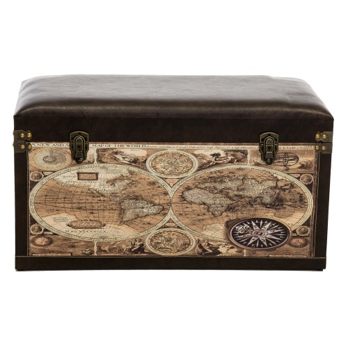 Casa World Trunk Large, Multi