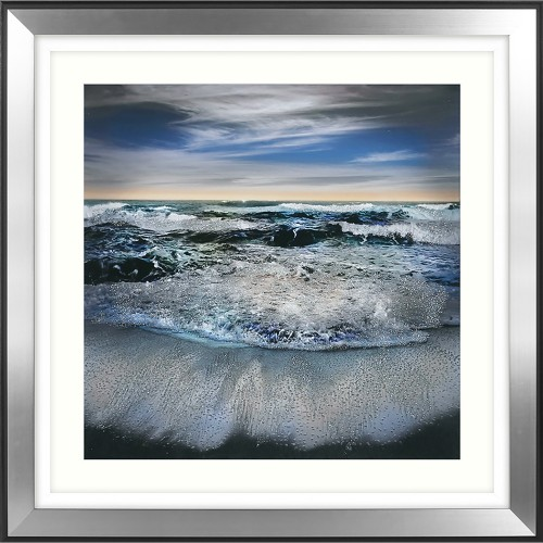 William Vanscoy All I Have To Give Framed Art, Blue