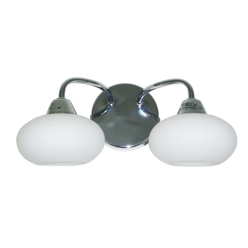 Casa Lovato Wall Light, Chrome
