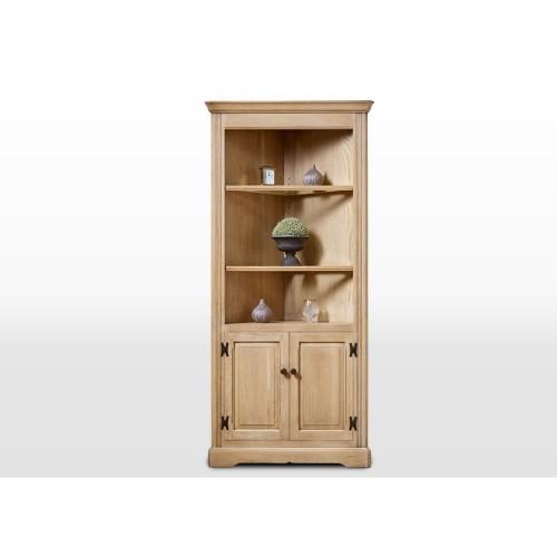 Old Charm Open Corner Cabinet