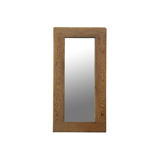 Casa Bordeaux Wall Mirror 130x60cm Mirror, Oak