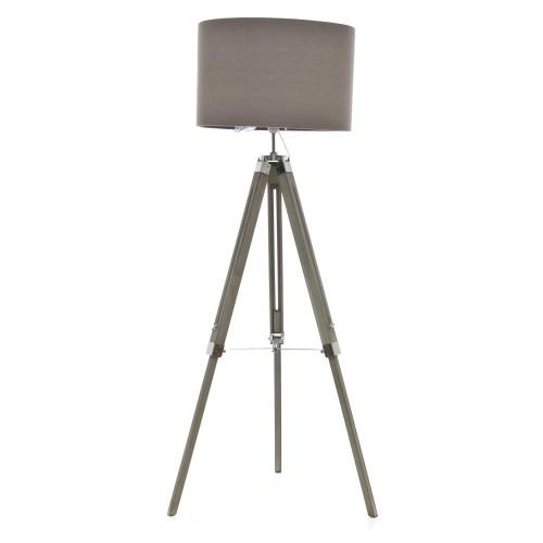 Casa Metro Floor Lamp, Washed Grey