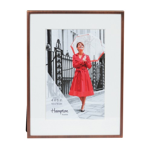 Hampton Frames Mayfair 4x6 Photo Frame, Bronze