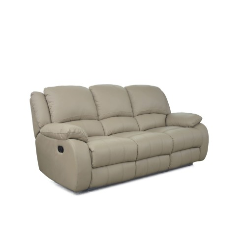 Casa Oscar 3 Seater Manual Recliner Sofa