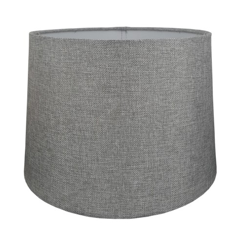 Carol Empire Linen Shade, Grey