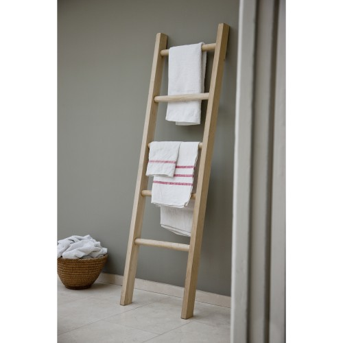 Garden Trading Oak Towel Ladder, Oak