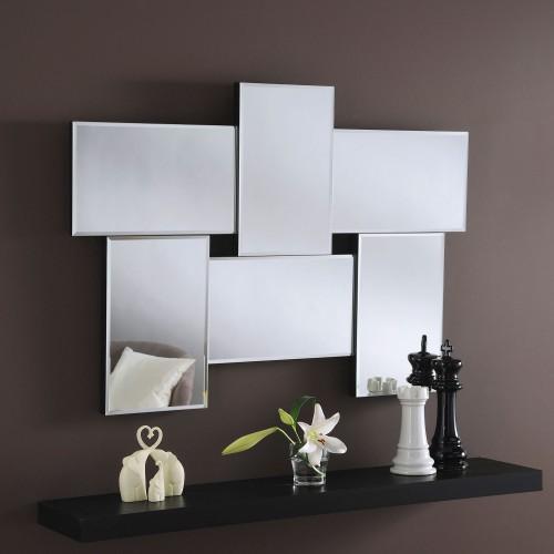 Yearn Glass Art 790 Small Mirror, Silver