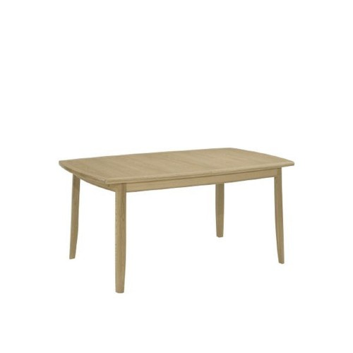 Nathan Shades Oak Small Boat Shaped Table On Legs