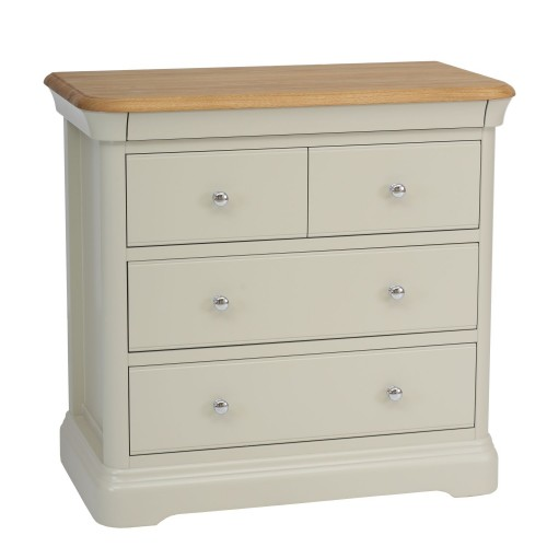 Tch Cherbourg 2+2 Drawer Chest 4 Draw