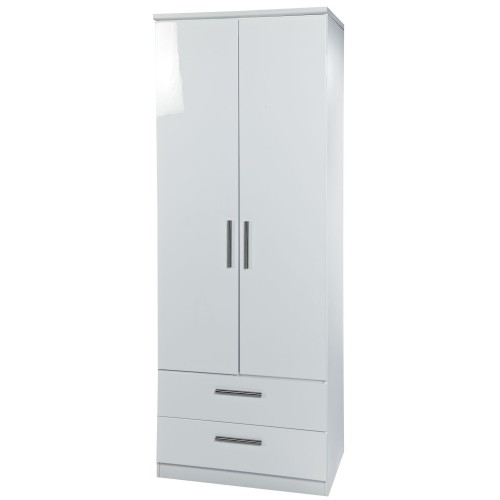 Welcome Knightsbridge 2 Drawer Robe Double